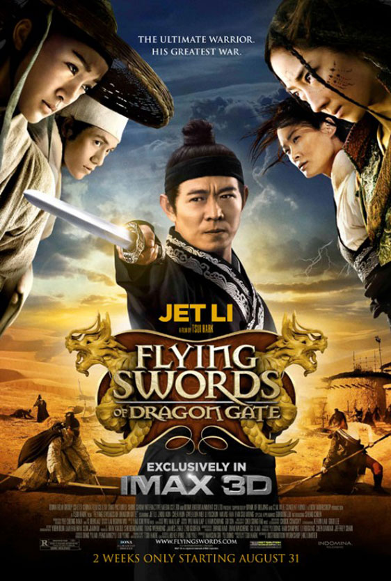 The Flying Swords of Dragon Gate Poster #2