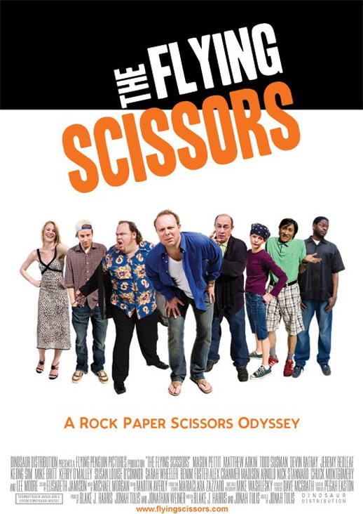The Flying Scissors Poster #1