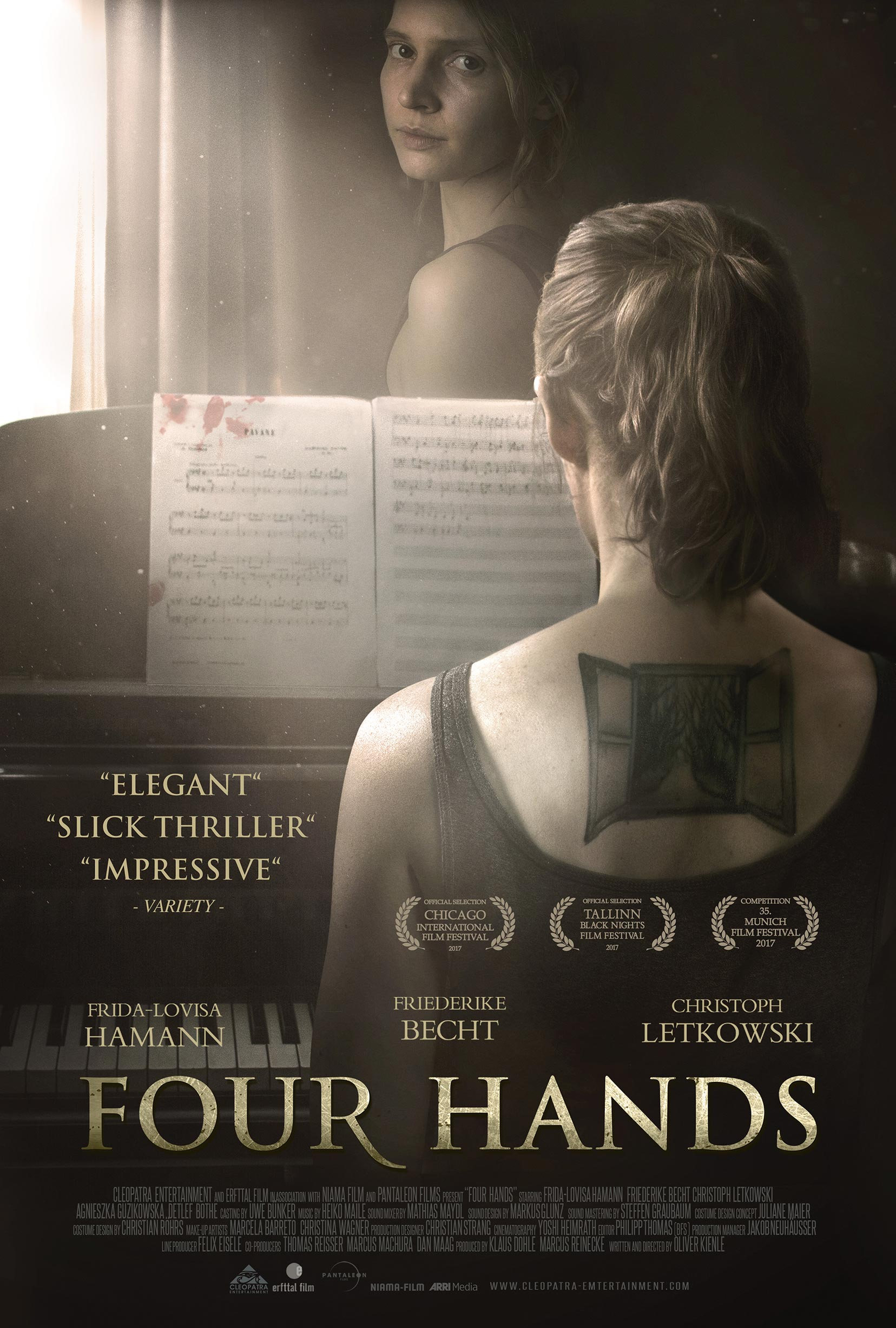 Four Hands Poster #1