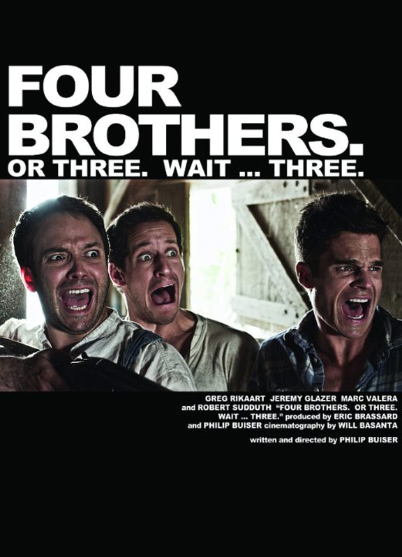 Four Brothers. Or Three. Wait... Three. Poster #1