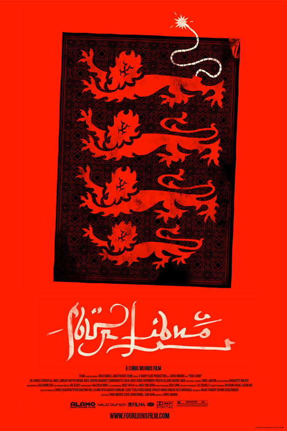 Four Lions Poster #2