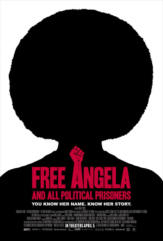 Free Angela & All Political Prisoners Poster #1