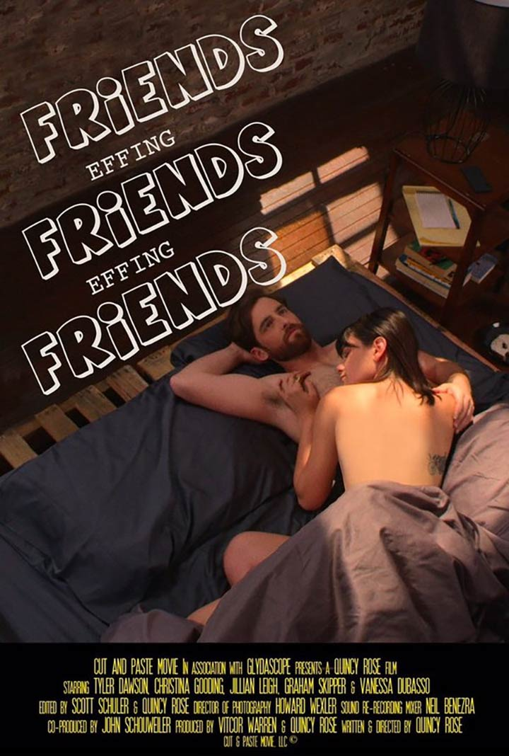Friends Effing Friends Effing Friends Poster #1