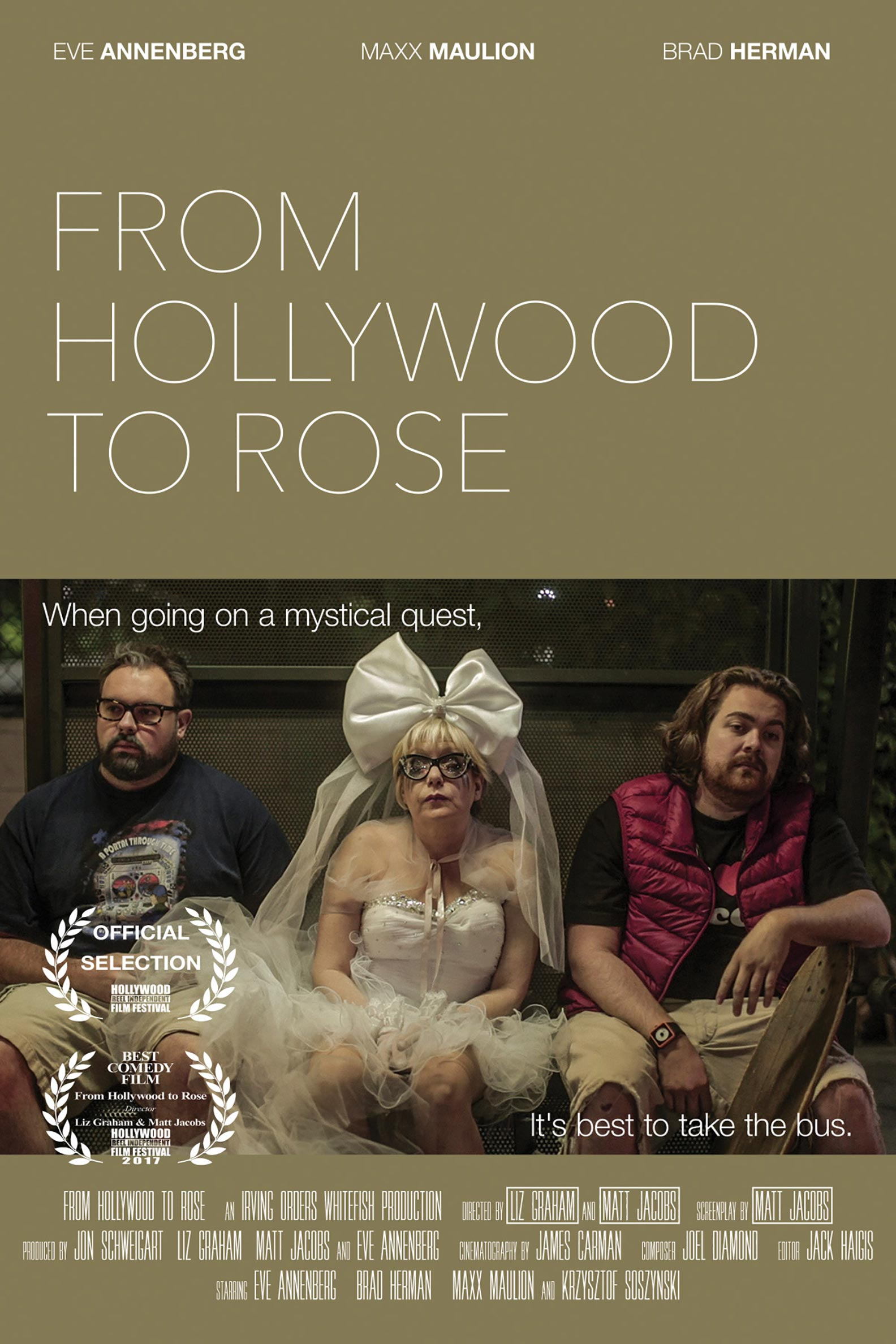 From Hollywood to Rose Poster #1