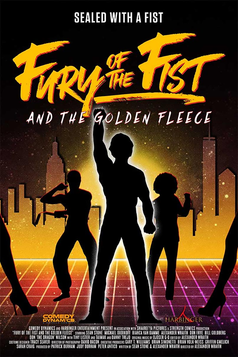 Fury of the Fist and the Golden Fleece Poster #1