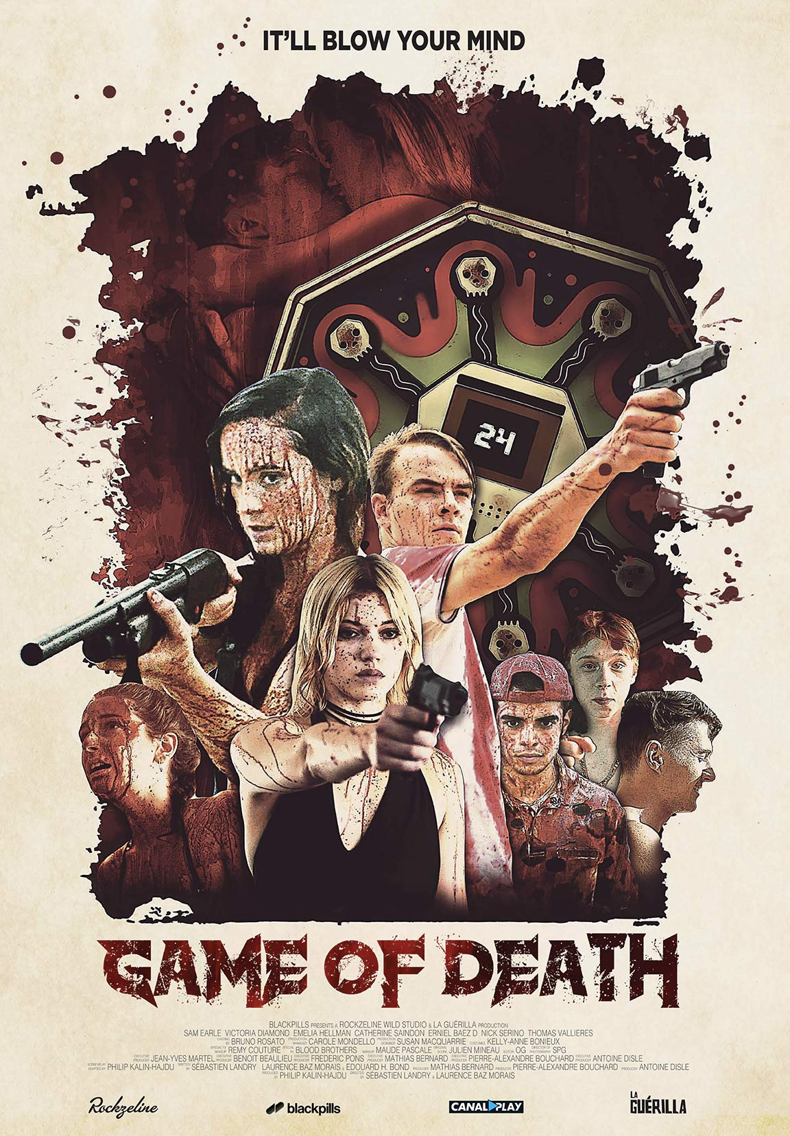 Game of Death Poster #1