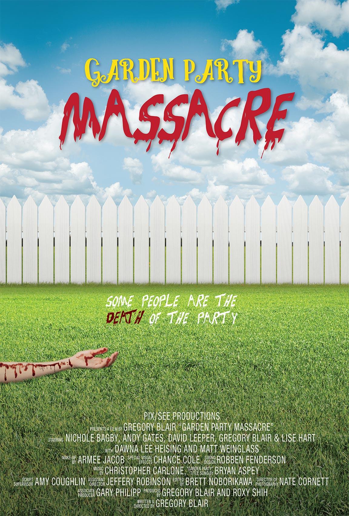 Garden Party Massacre Poster #1
