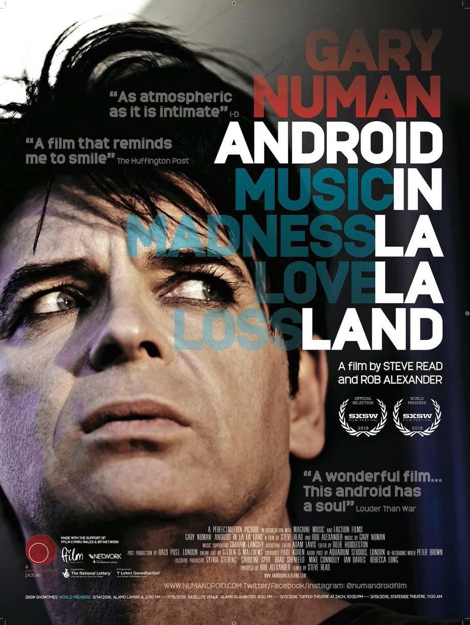 Gary Numan: Android in La La Land Poster #1
