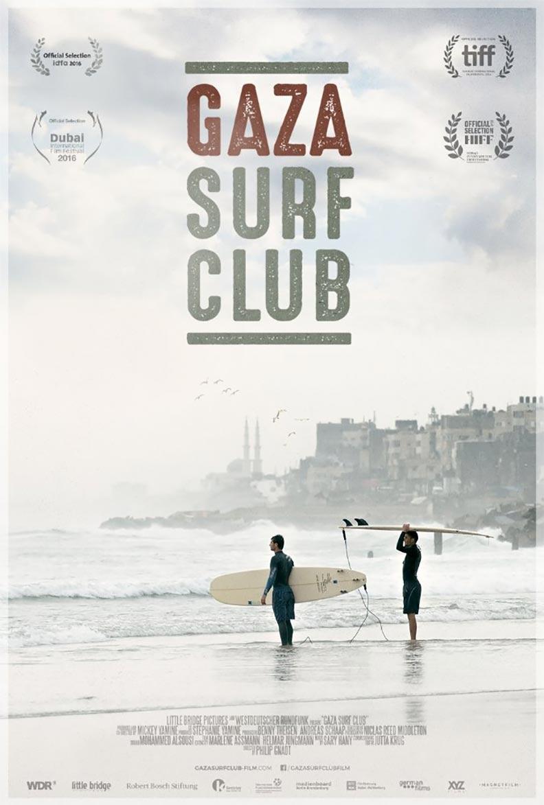 Gaza Surf Club Poster #1