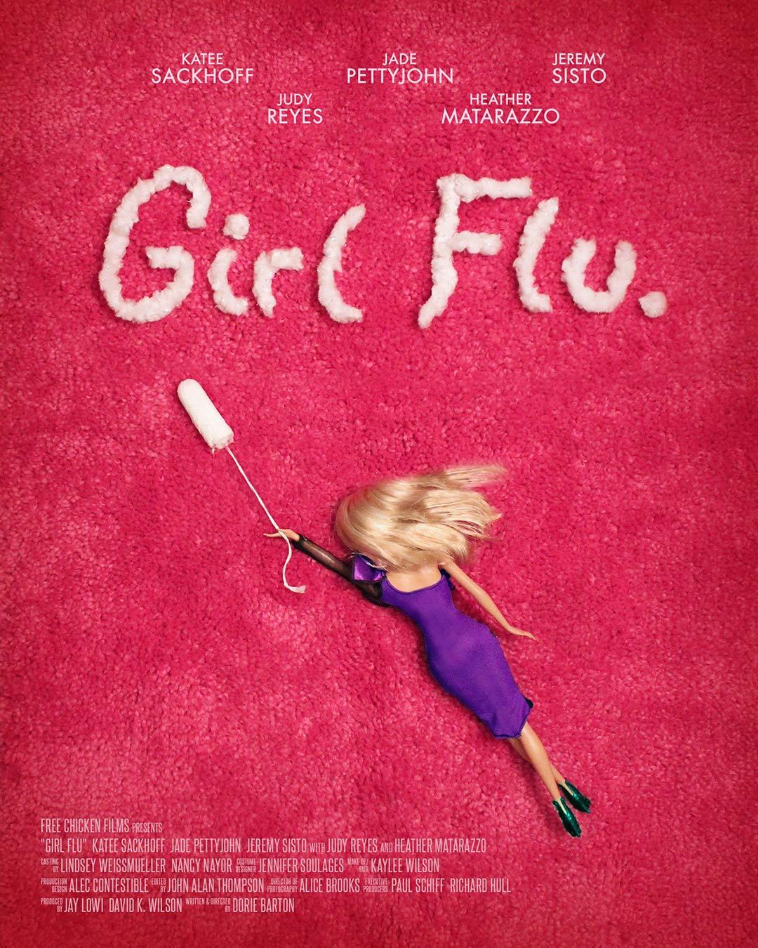Girl Flu Poster #1