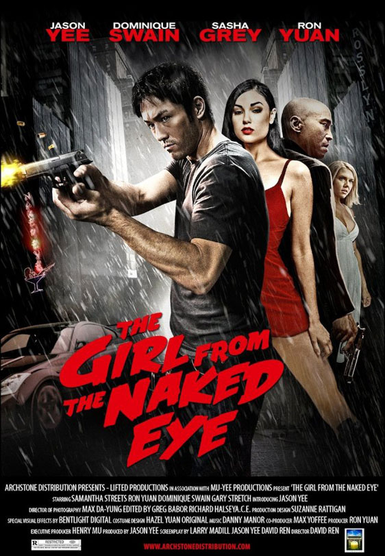 The Girl from the Naked Eye Poster #1