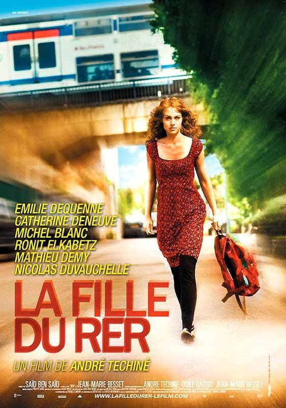 The Girl on the Train (La fille du RER) Poster #1