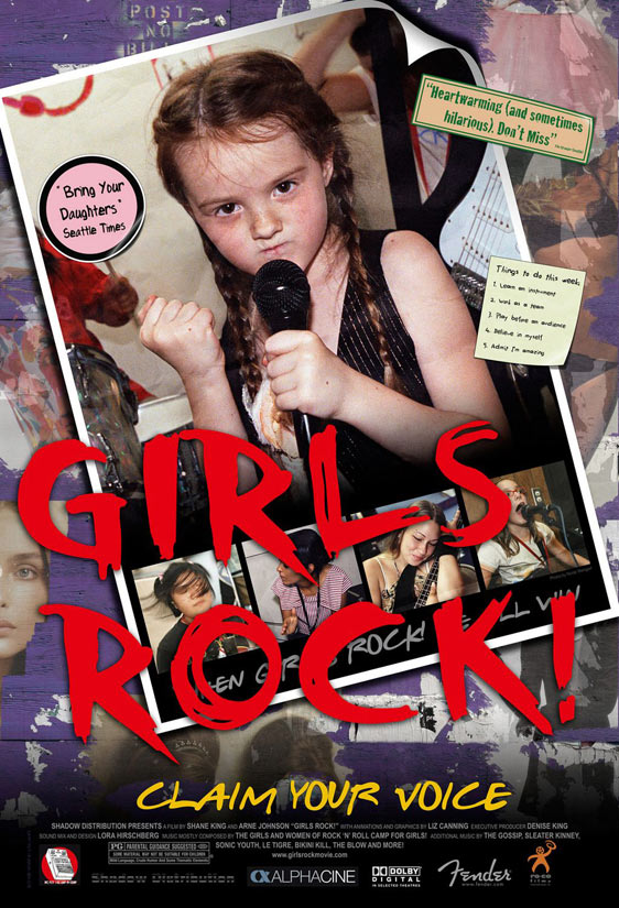 Girls Rock! Poster #1