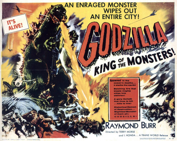Godzilla, King of the Monsters! Poster #2
