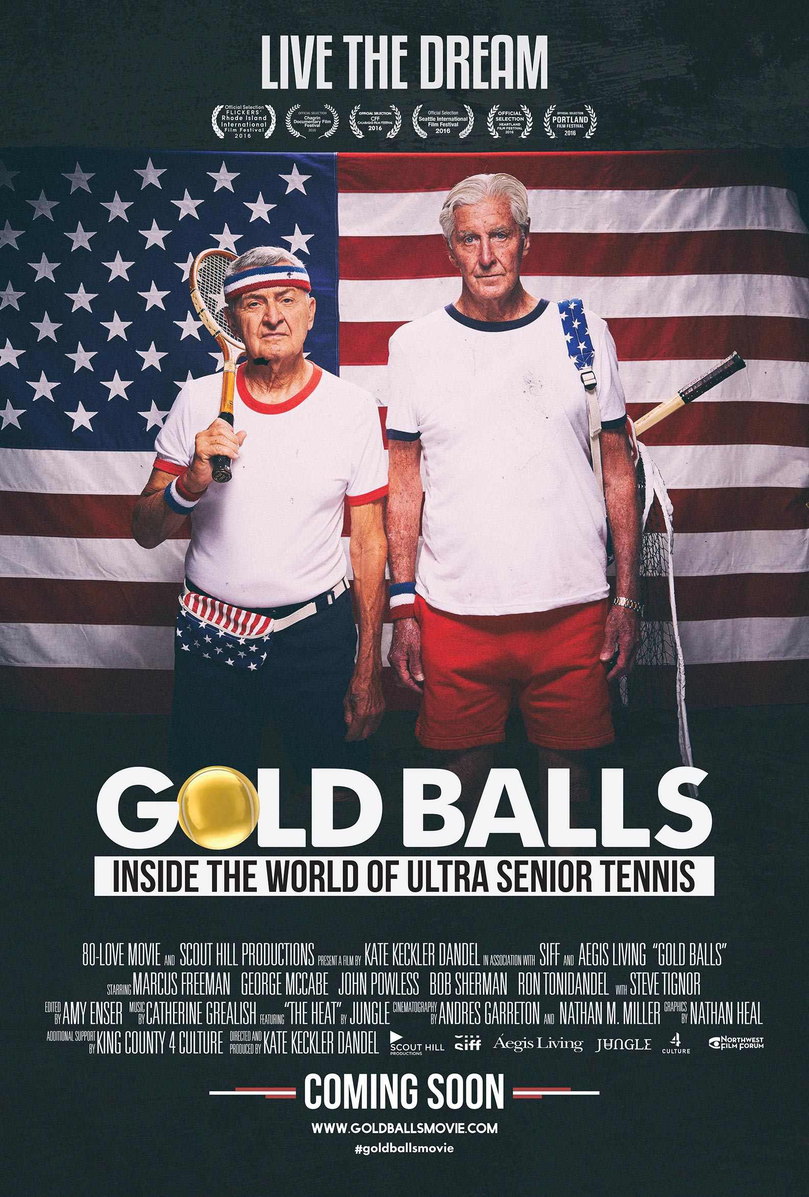 Gold Balls Poster #1