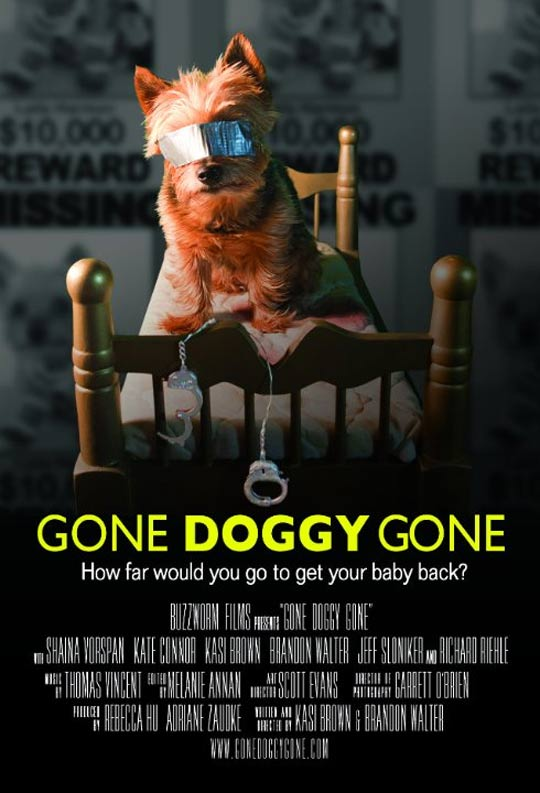 Gone Doggy Gone Poster #1