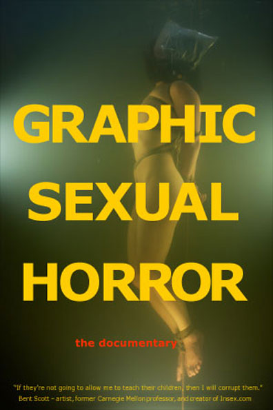 Graphic Sexual Horror Poster #1