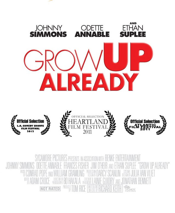 Grow Up Already Poster #1