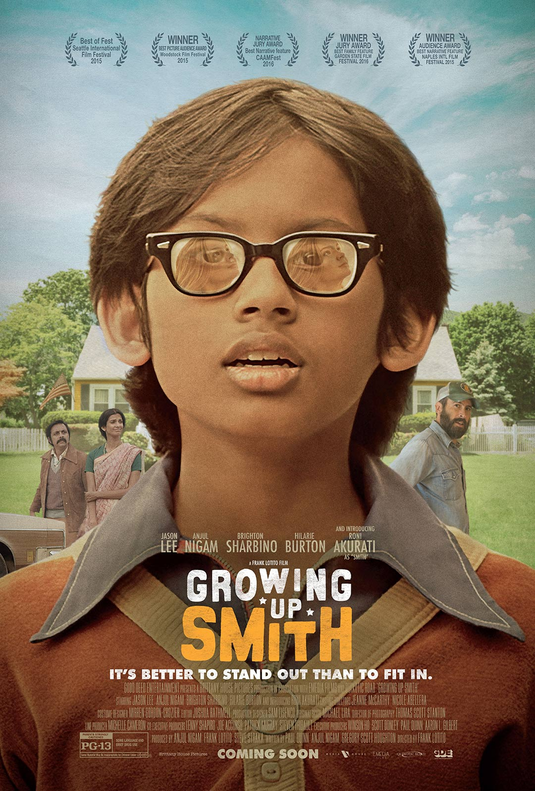 Growing Up Smith Poster #1