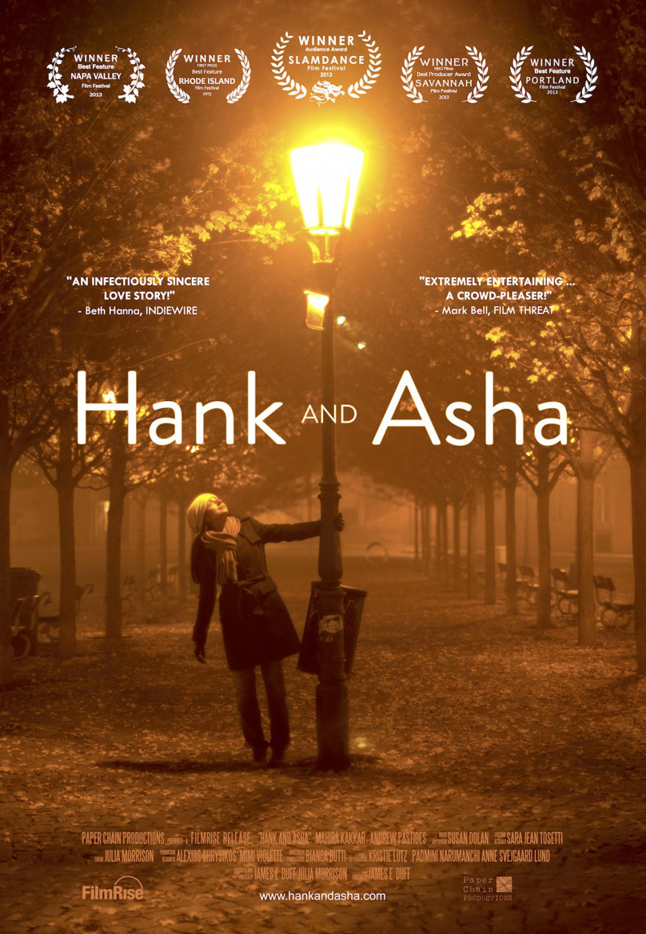 Hank and Asha Poster #1