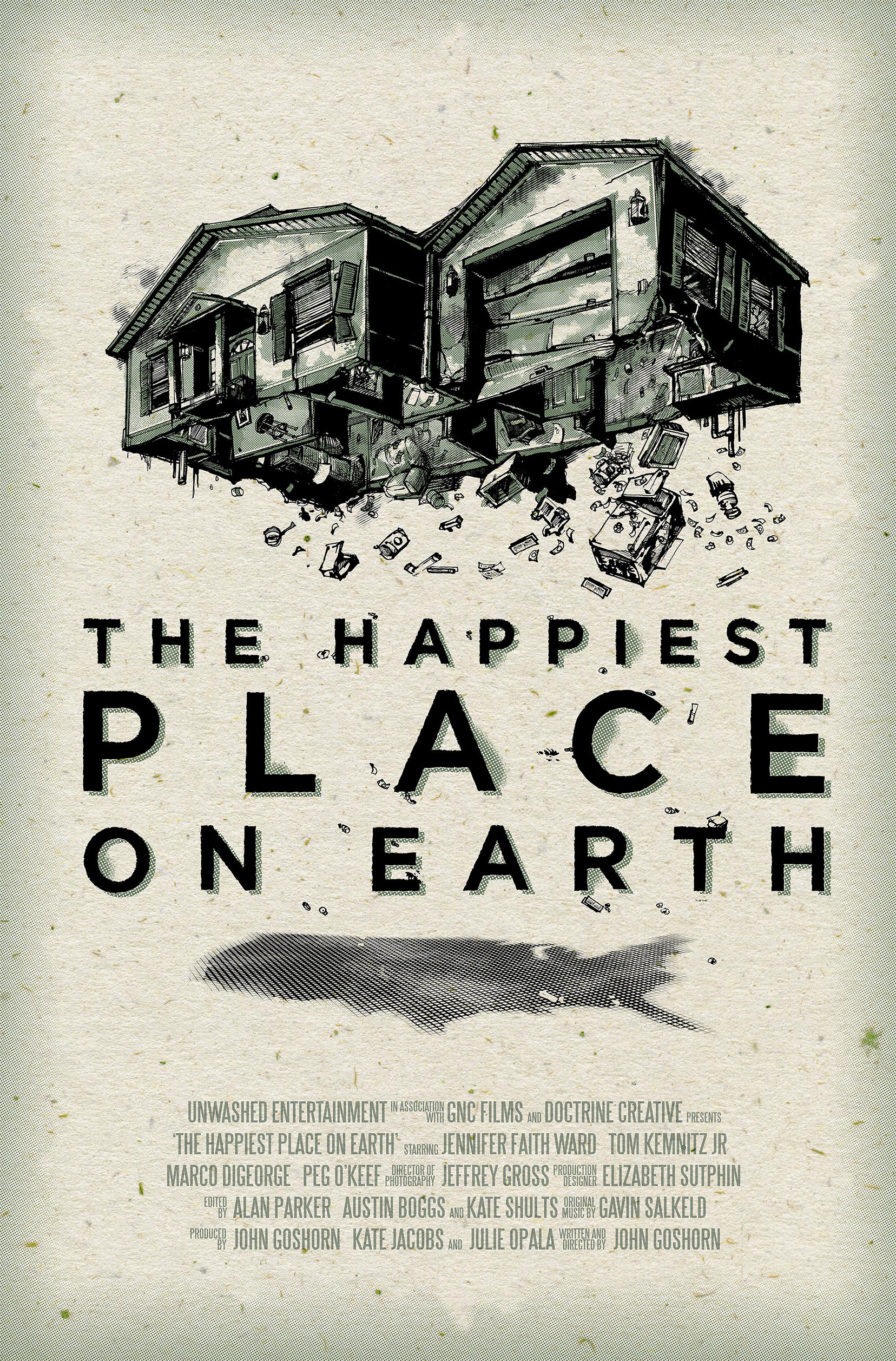 The Happiest Place on Earth Poster #1