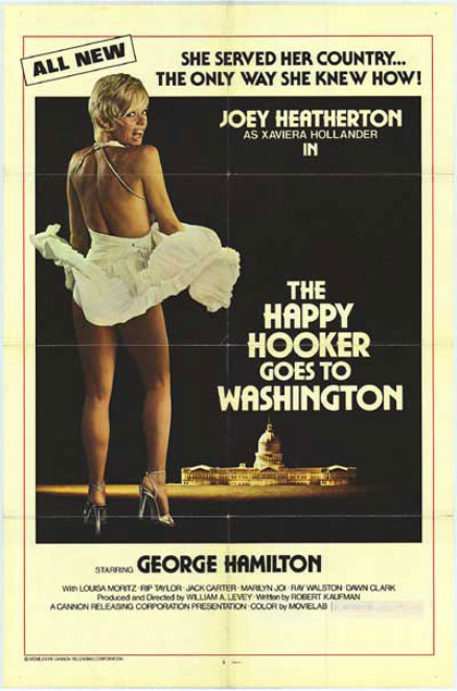 The Happy Hooker Goes to Washington Poster #1