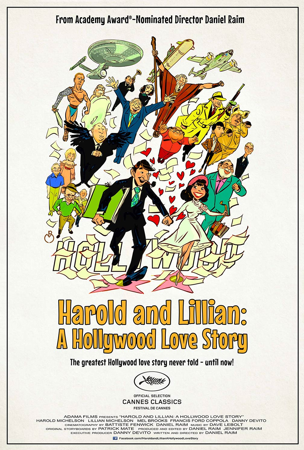 Harold and Lillian: A Hollywood Love Story Poster #1