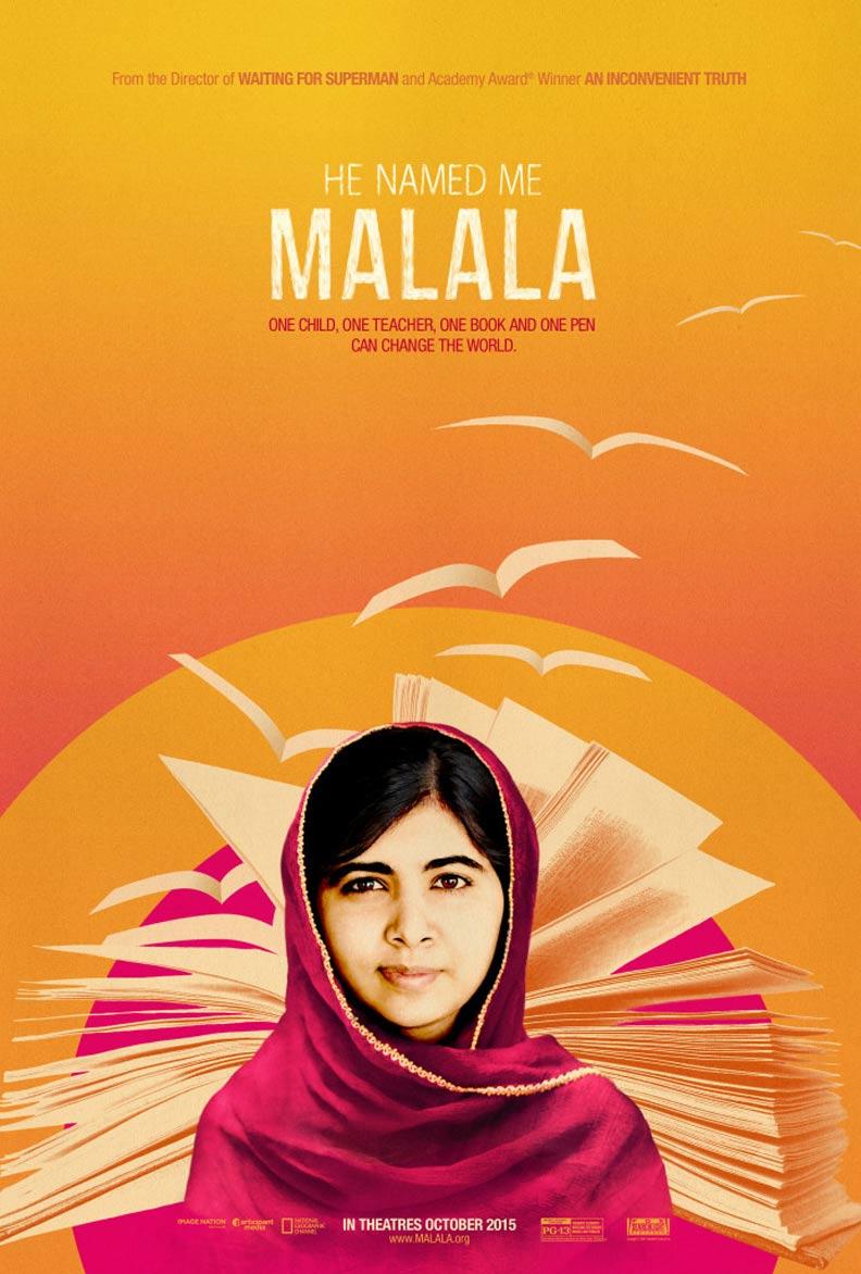 He Named Me Malala Poster #1