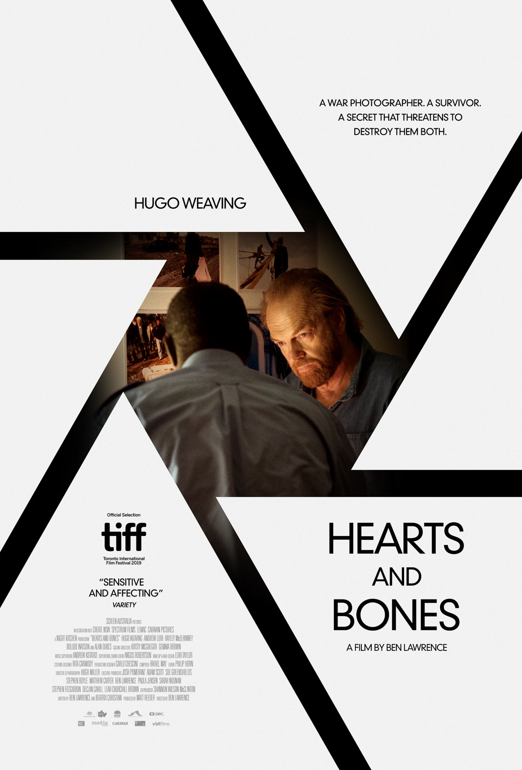Hearts and Bones Poster #1