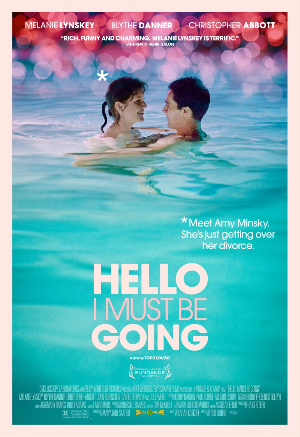 Hello I Must Be Going Poster #1