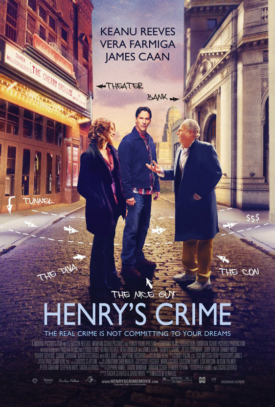 Henry's Crime Poster #3