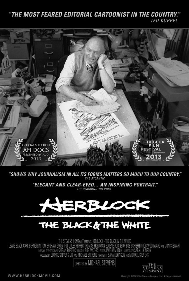 Herblock: The Black & the White Poster #1