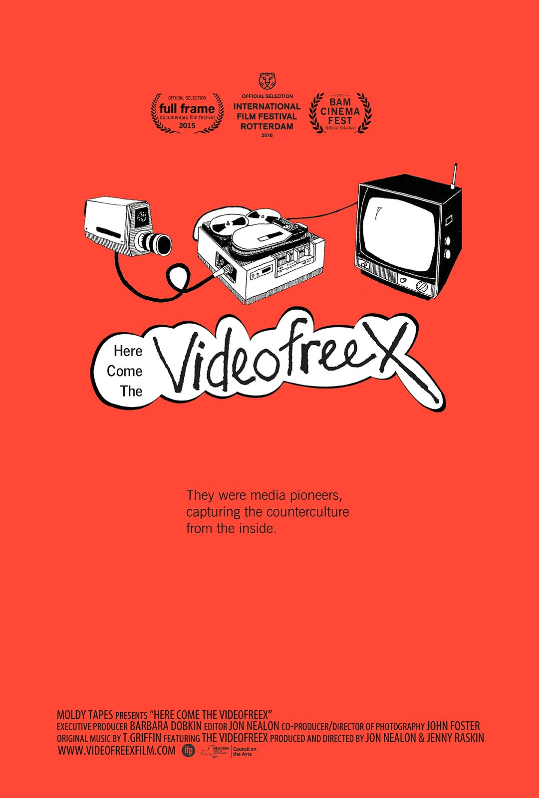 Here Come the Videofreex Poster #1