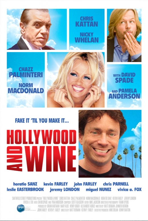 Hollywood & Wine Poster #2