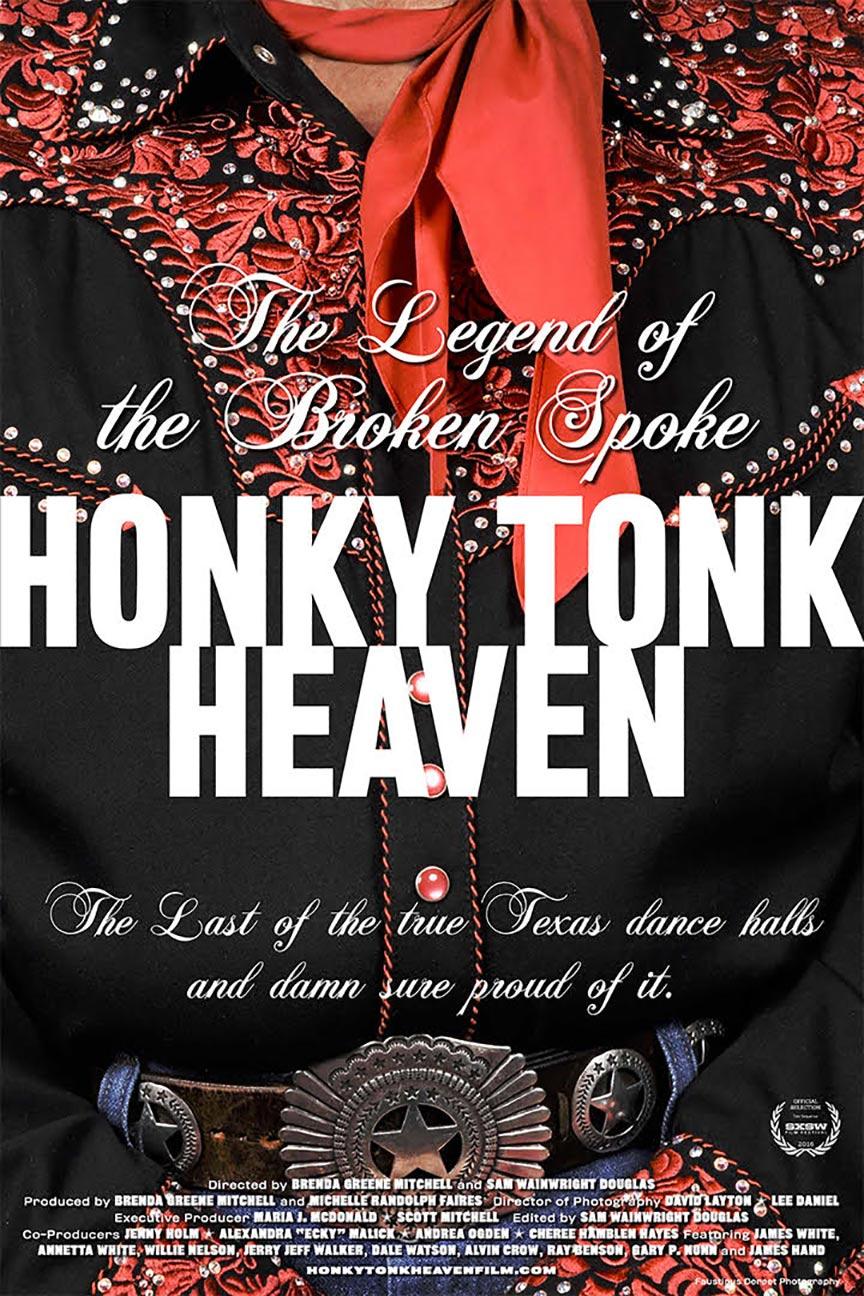 Honky Tonk Heaven: Legend of the Broken Spoke Poster #1