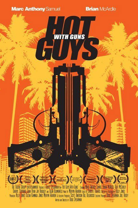 Hot Guys with Guns Poster #1