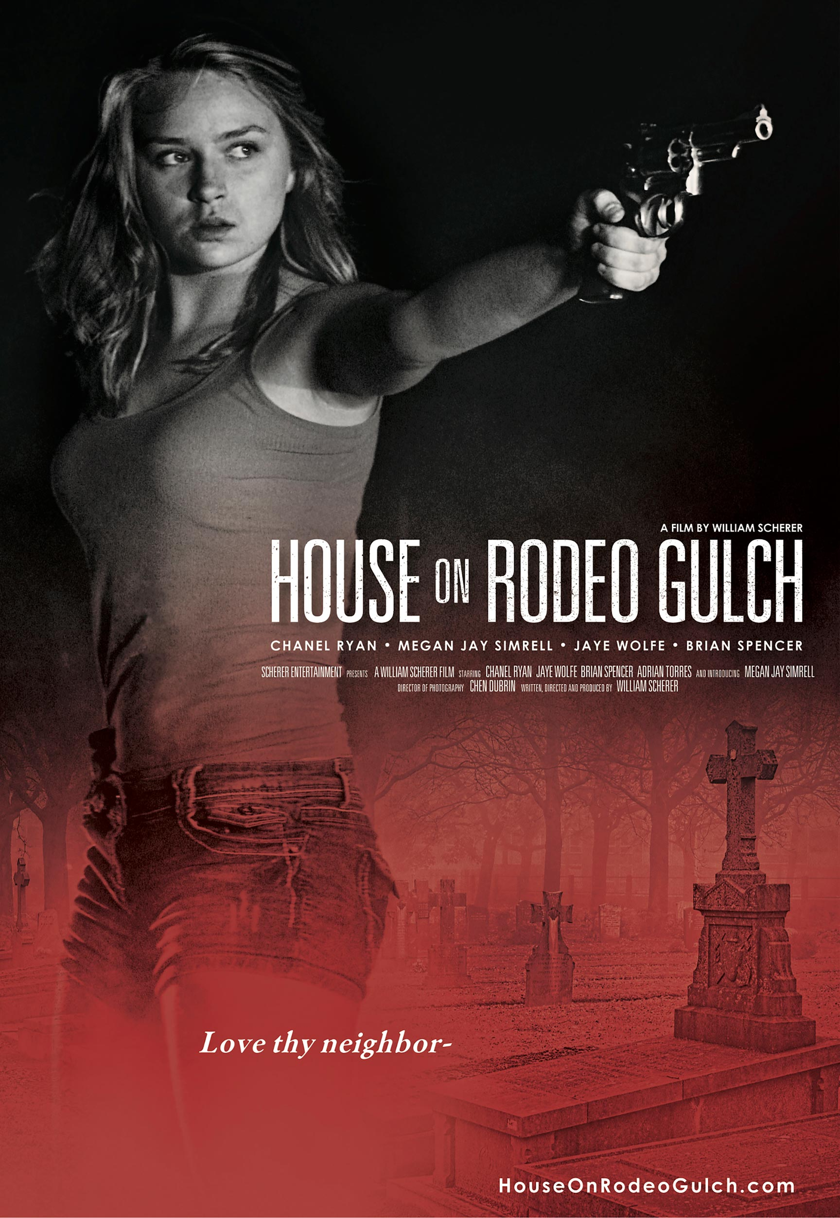 House on Rodeo Gulch Poster #1