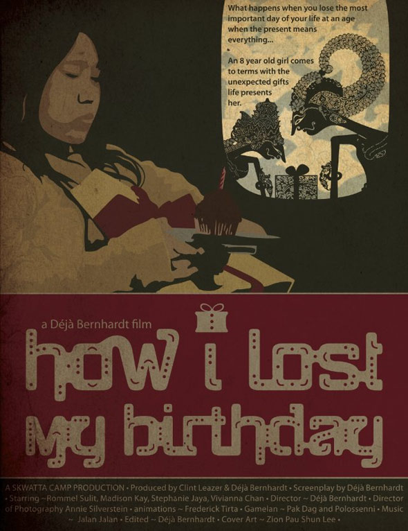 How I Lost My Birthday Poster #1