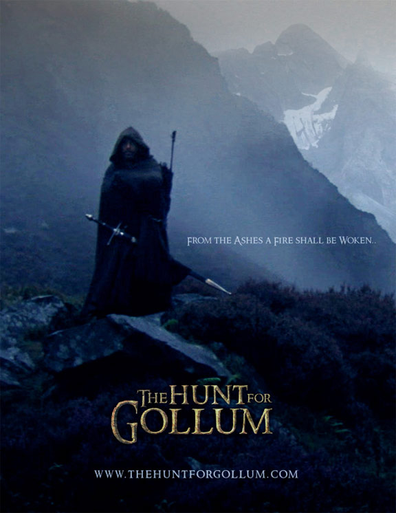 The Hunt for Gollum Poster #2