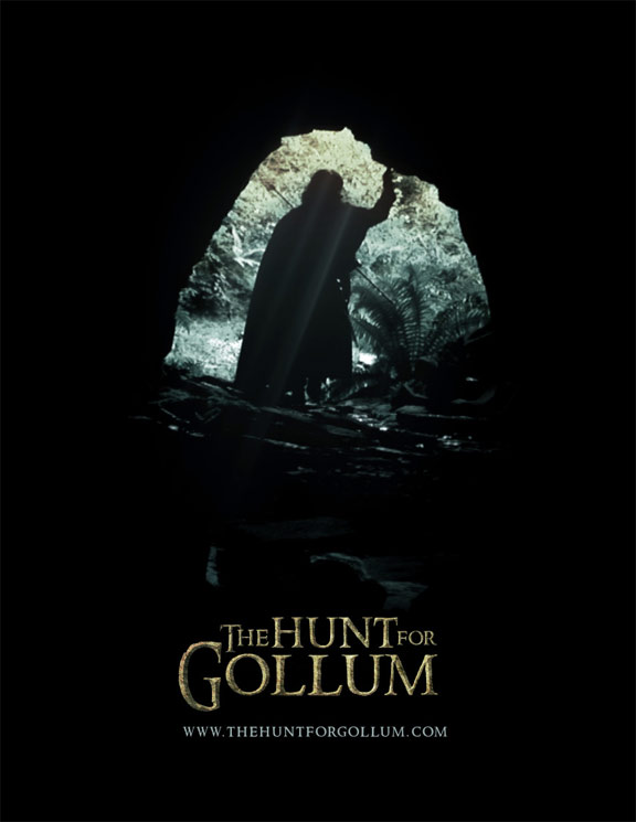 The Hunt for Gollum Poster #1