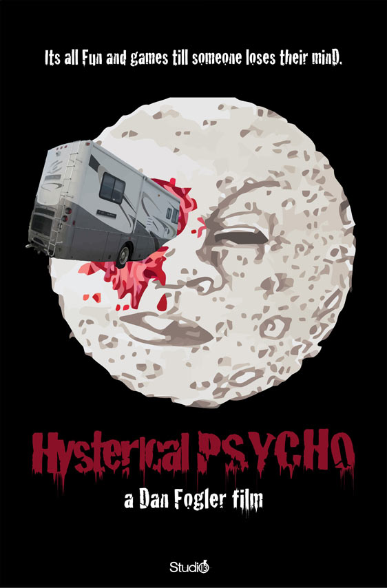 Hysterical Psycho Poster #1