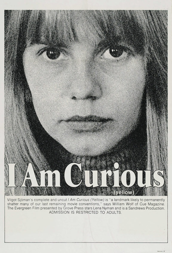 I Am Curious (Yellow) Poster #1