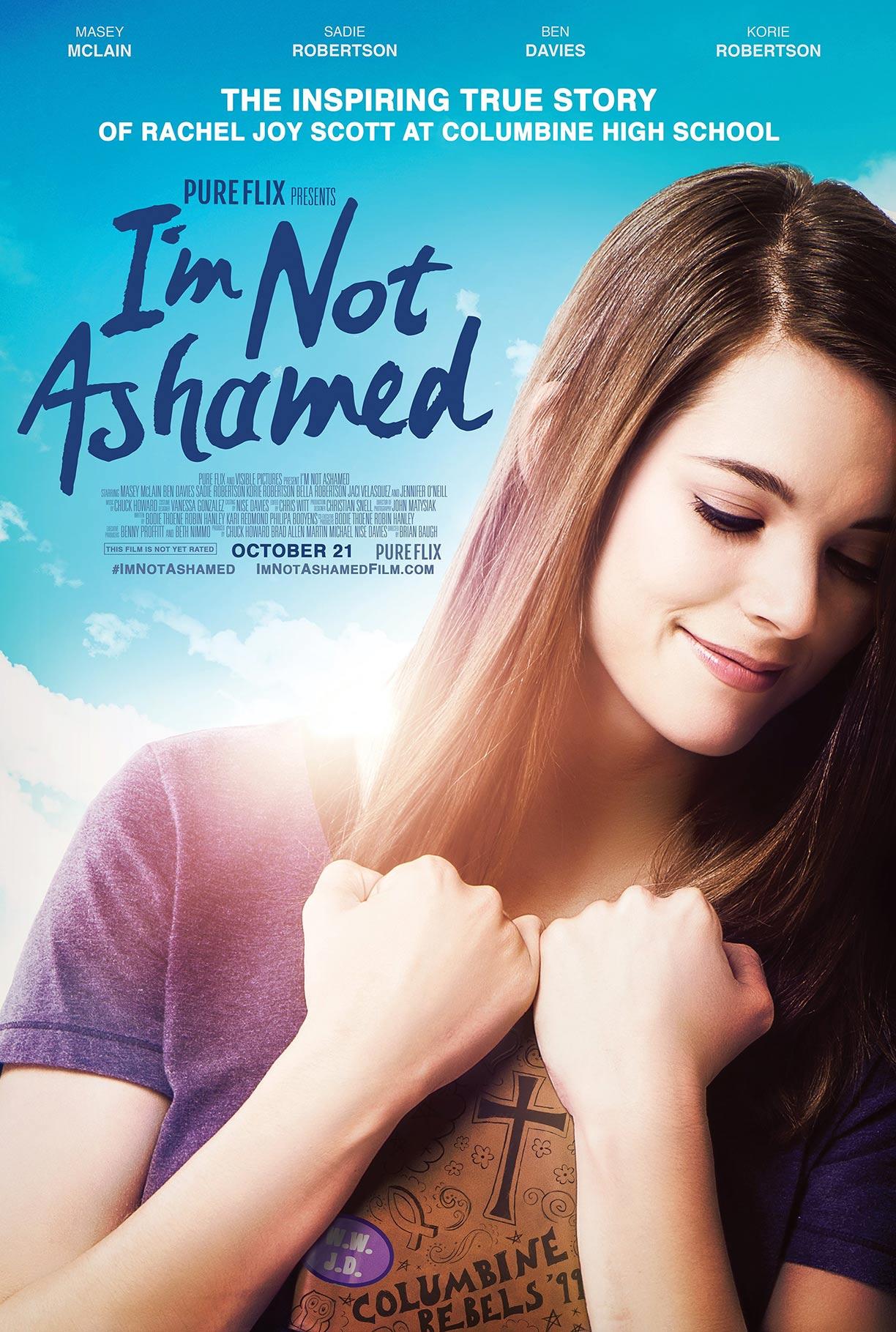I'm Not Ashamed Poster #1
