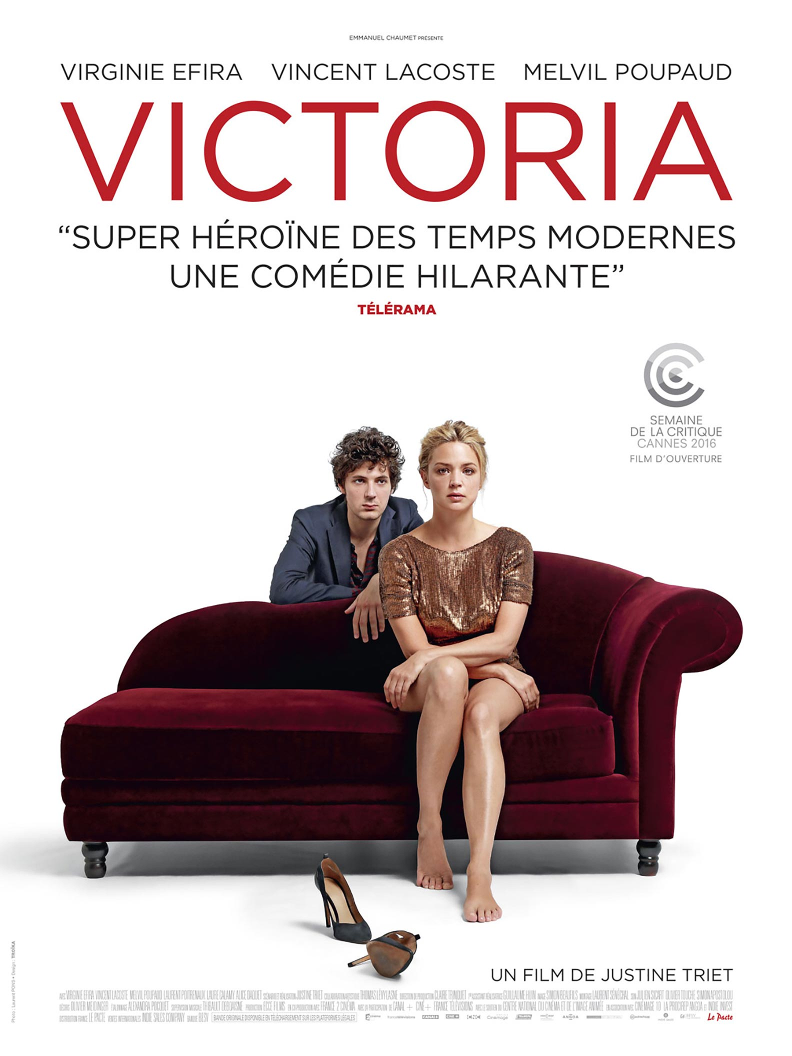 In Bed With Victoria Poster #1