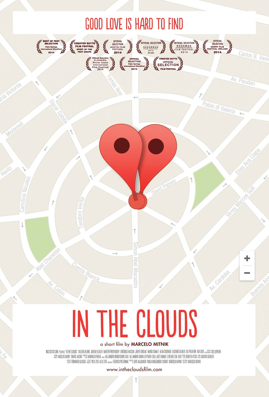 In the Clouds Poster #1