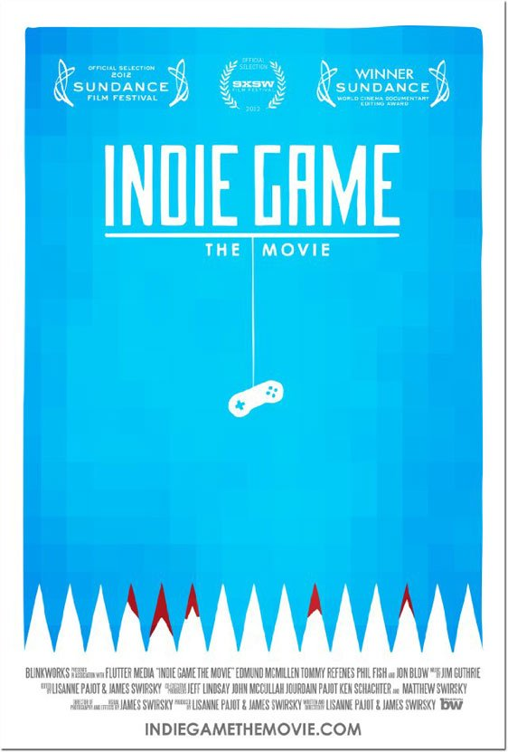 Indie Game: The Movie Poster #1