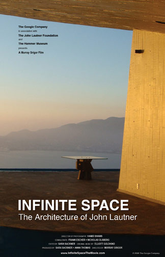 Infinite Space: The Architecture of John Lautner Poster #1