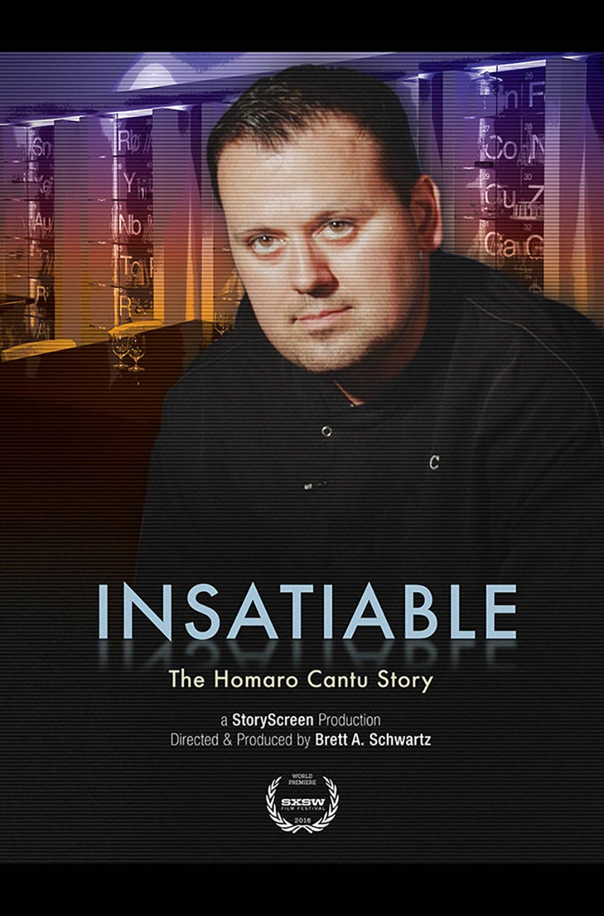 Insatiable: The Homaro Cantu Story Poster #1