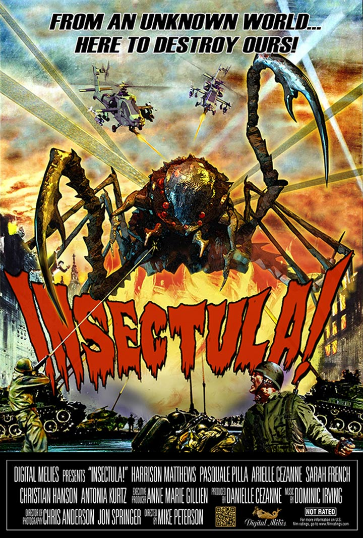 Insectula! Poster #1