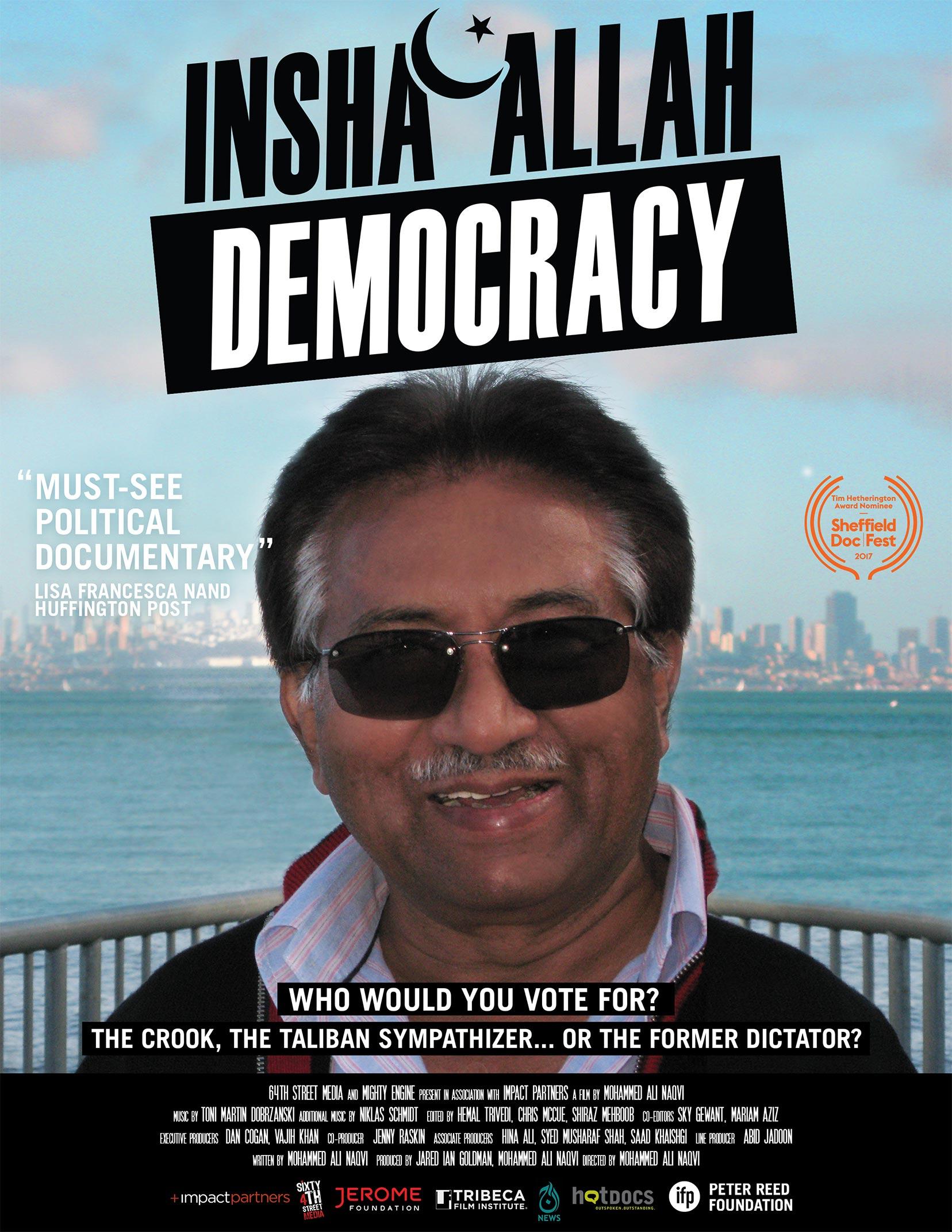 Insha'Allah Democracy Poster #1